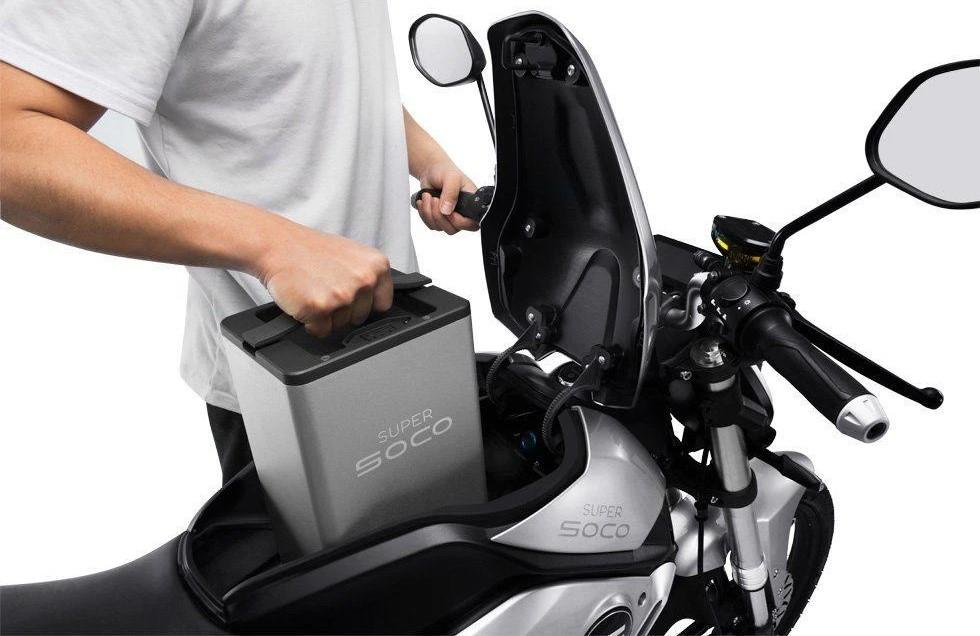 batterie scooter electrique amovible