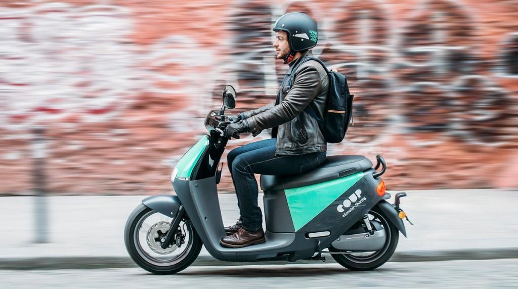 scooter electrique libre service