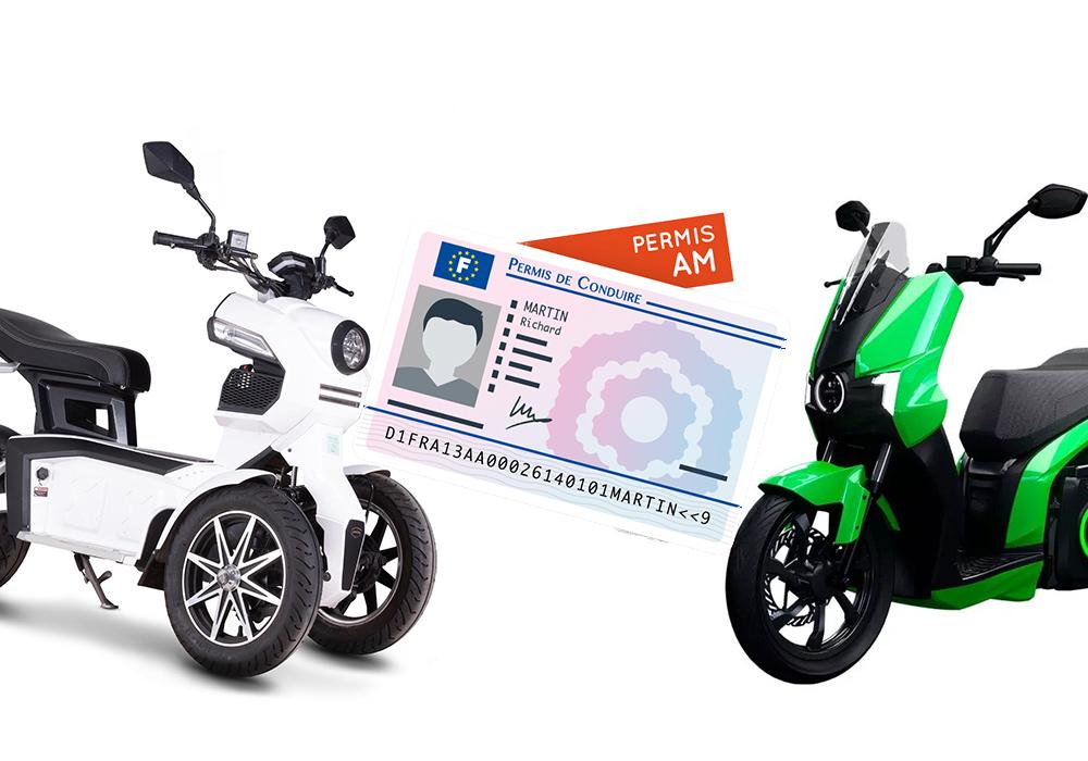 permis scooter électrique conduire 50cc 125cc
