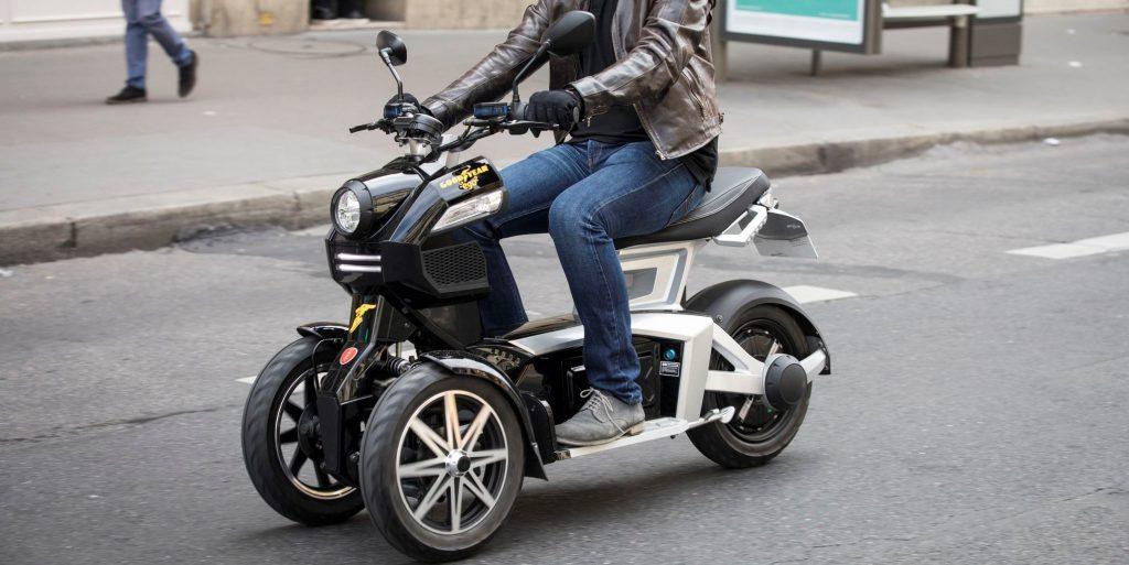 scooter électrique 3 roues doohan itank ville